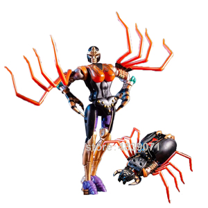 Image 5 - TE Action Figure Toys MM 001 MM001 Small Proportion G1 Blackarachnid Airachnid Poisonous Spider Beast Deformation Transformation