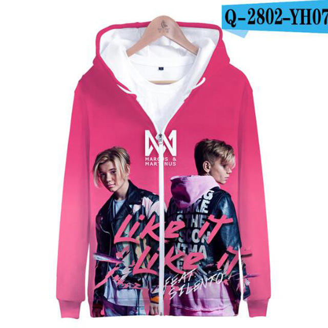 3 To 14 Years Kids Hoodie Marcus and Martinus 3D Hoodies Sweatshirt Boys Girls Fashion Harajuku Jacket Coat Children Clothes 21