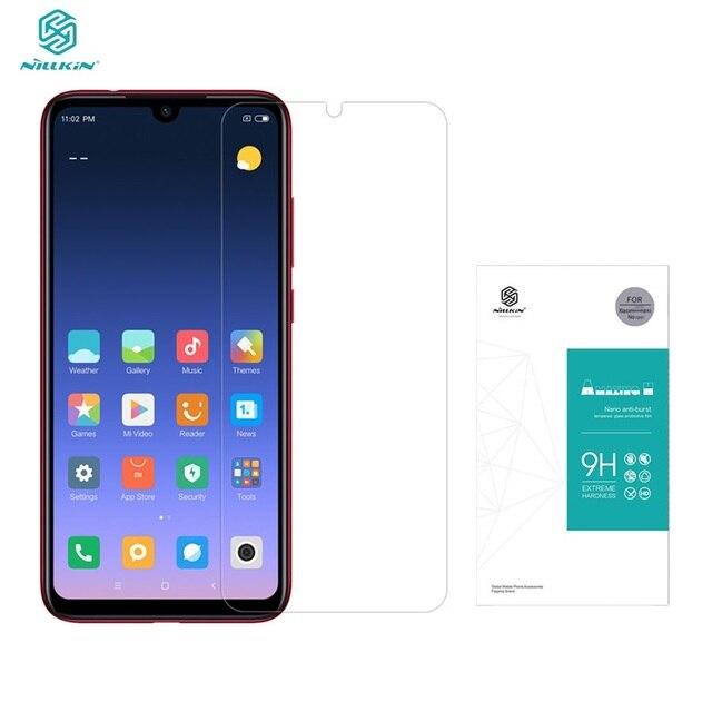 מזג זכוכית עבור Xiaomi Redmi הערה Note 8 Pro פרו מסך מגן Nillkin מדהים H אנטי פיצוץ 9H זכוכית סרט עבור Redmi Note8 Pro פרו