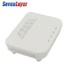 EPON ONU FTTO 1GE 1port FTTH ONU ONT pojedynczy Port LAN OLT 1.25G ZTE chipset światłowód do domowego modemu FTTB skrzynek serwisowych
