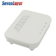 Epon onu ftto 1ge 1 porto ftth onu único porto lan olt 1.25g zte chipset fibra para casa fttb modem de caixas de serviço