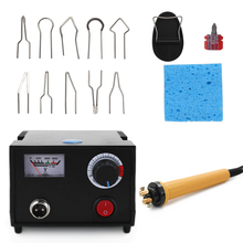 110V/220V Temperatura Regolabile In Legno Bruciatore Penna Bruciare Macchina Pirografia Zucca Artigianato Tool Set Con Filo di Saldatura