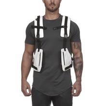 Göğüs çanta erkek taktik yelek son derece görünür yansıtıcı yelek 2020 yeni erkek bel paketi erkekler çok cep güvenlik Anti anti hırsızlık cebi