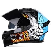 Jiekai Motocrycle Helmets Winter Summer Full Face Racing Motocross Protection Wa