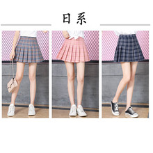 School Uniform for Girls Skirts 2020 News Plaid Japanese Style Korean Version Academy Navy Student Sailor Anime Cosplay Costume(China)