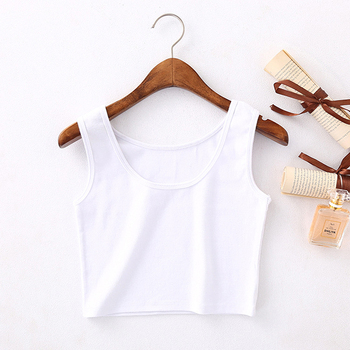Summer Slim Render Shor Sleeveless Camisole Women Sexy Short Tank Tops Womens Solid Bodycon Navel top s Vest Tube
