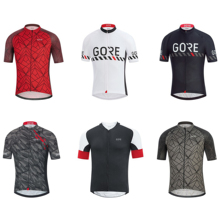GORE 2019 Men Aero Cycling Jersey Custom Mtb Pro Team Downhill Clothing Breathable Running Sport Cycle Wear Tops