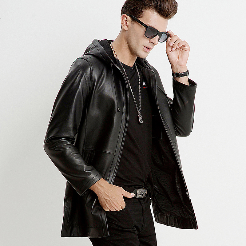 Winter Jacket Men Genuine Sheepskin Leather Jacket Men Clothes 2020 Autumn Plus Size Coat Jaqueta De Couro M6660 MY791