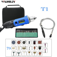цена на 480W Blue Engraving Machine Dremel Electric Drill Engraving Pen Polisher Small Drill DIY Electric Drill Electric Rotary Tool Sma