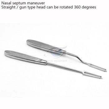 Rhinoplasty Nasal Septum Rotary Knife Stainless Steel 360 Degree Swivel Knife Nasal Septum Cartilage Instrument