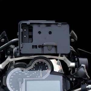 """Image 2 - טלפון נייד ניווט סוגר עבור BMW R1200GS עו""""ד F700 800GS CRF1000L אפריקה Twin עבור הונדה אופנוע USB טעינה 12MM moun"""