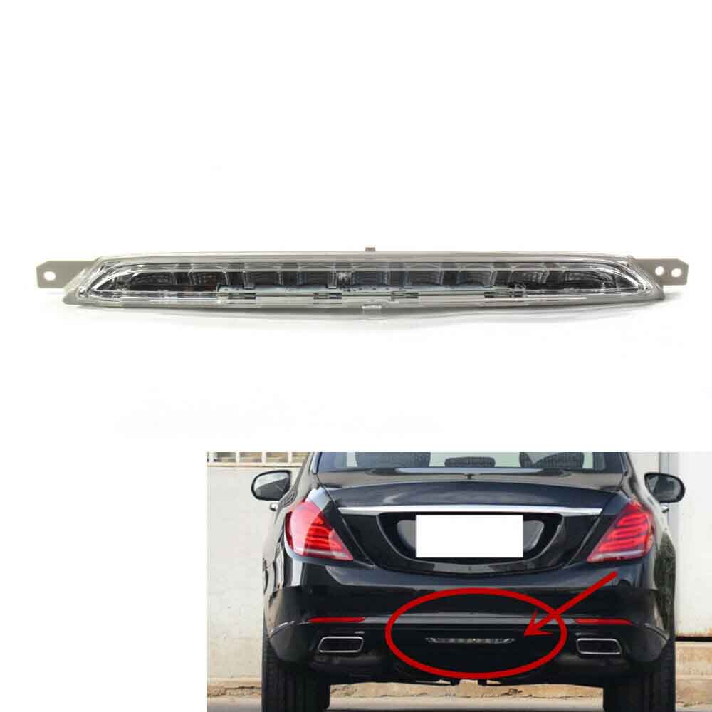 Clear Tail Rear 3RD High Brake Bumper Fog Light Lamp for <font><b>Mercedes</b></font> Benz <font><b>W222</b></font> <font><b>S</b></font> <font><b>Class</b></font> S600L S500L S400L A2229060048 image