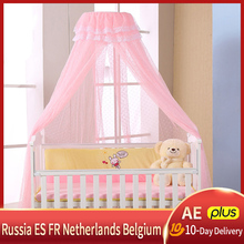 Mosquito-Net Netting Canopy Iron-Stand Baby for Summer Without