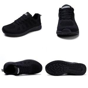 Image 5 - STQ 2020 ฤดูใบไม้ผลิรองเท้าผ้าใบผู้หญิงรองเท้าแบนหญิง Casual LACE up Breathable ตาข่ายรองเท้าผ้าใบผู้หญิงรองเท้าสตรีเดินรองเท้า a08