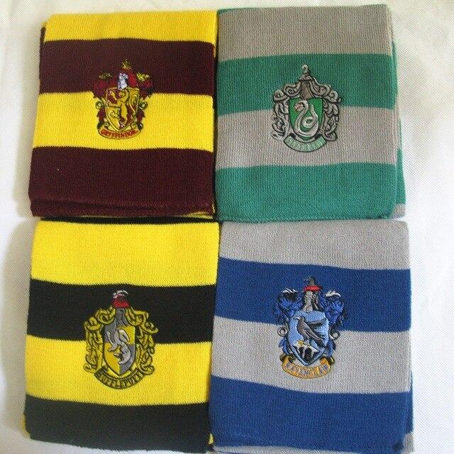 Hogwarts School Scarf Gryffindor Ravenclaw Hermione long Scarves Slytherin Hufflepuff Neckerchief for Women Men Boy basic pump