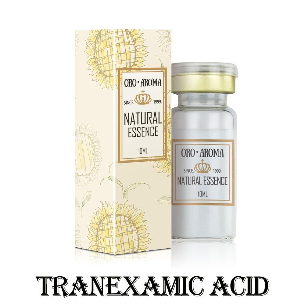 Известная фирма oroaroma, натуральный раствор транэминовой кислоты, сыворотка, Экстра эссенция, сыворотка для лица, выцветание меланина, отбели...