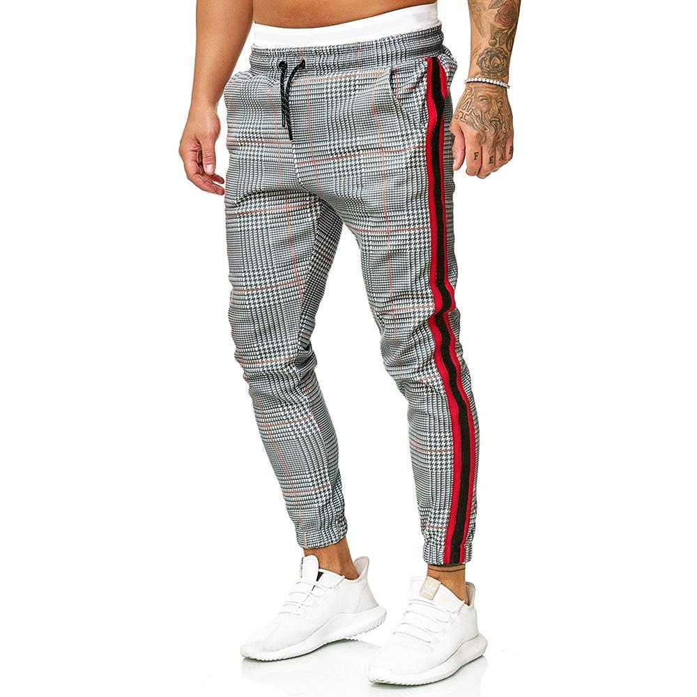 Tsmile Women Streetwear Elastic Waist Sweatpants Stylish Casual Mesh Splice Pockets High Waist Cozy Cargo Pants