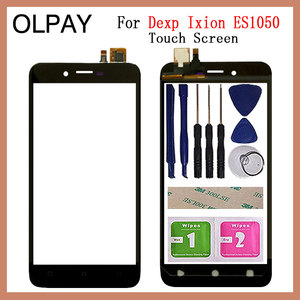Mobile Phone 5.0'' inch Touch Screen For Dexp Ixion ES1050 Touch Screen Glass Digitizer Panel Lens Sensor Glass Repair parts(China)