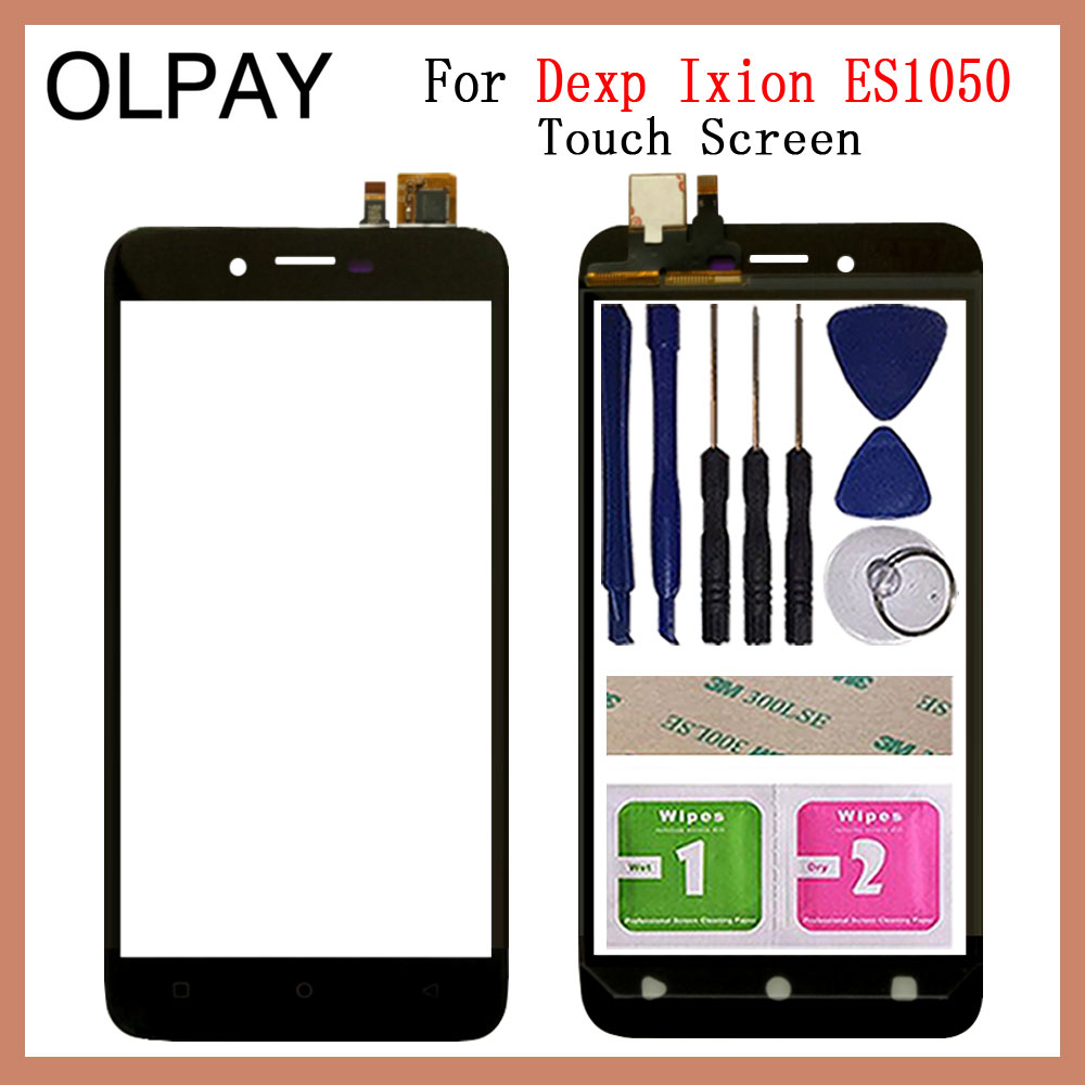 Mobile Phone Touchscreen For Dexp Ixion ES1050 5.0'' Inch Touch Screen Glass Digitizer Panel Lens Sensor Glass Repair Parts
