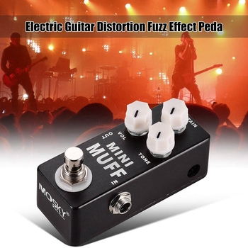 guitar acoustic electric Guitar Electric Guitar Mini Muff Fuzz Distortion Electric Guitar Effect Pedal dunlop ffm4 joe bonamassa fuzz face mini distortion limited edition pedal