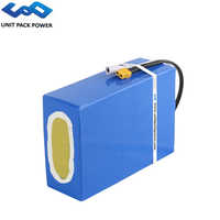 UPP Waterproof 48V 20Ah 960Wh eScooter Battery 36V 20Ah 720Wh Electric Trikes Batteries for 1000W 750W 500W 250W Conversion Kit