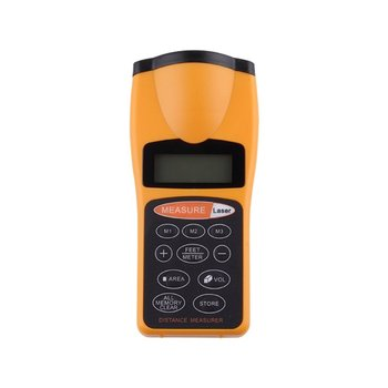 цена на New CP-3007 Digital LCD Ultrasonic Distance Measure Tape Measure Meter Laser Designator Point Rangefinder Measuring Tools