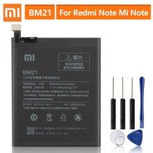 """Batería de repuesto Original para XiaoMi Redmi Note Mi Note, 5,7 """", Redrice Note BM21, 2900mAh"""