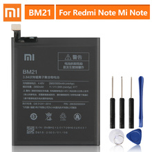 """แบตเตอรี่ทดแทนสำหรับXiaoMi RedmiหมายเหตุMi Note 5.7 """"RedriceหมายเหตุBM21ของแท้แบตเตอรี่2900MAh"""