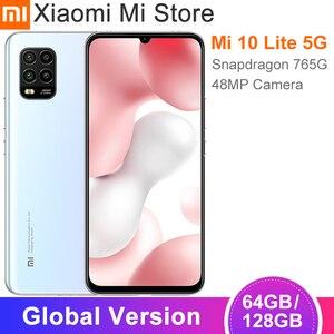 Глобальная версия Xiaomi Mi 10 Lite 5G смартфон 6 ГБ 64 Гб 6,57