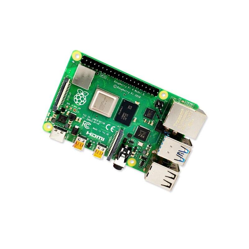 2019 nouvelle framboise officielle d'origine Pi 4 modèle B RAM 1G 2G 4G 4 Core 1.5Ghz 4K Micro HDMI Pi4B 3 vitesses que Raspberry berr Pi 3B + - 3
