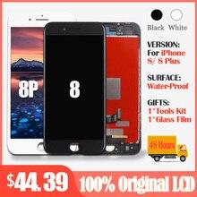 Orijinal LCD ekran için iphone 8 iphone 8 artı LCD ekran dokunmatik ekran digitizer değiştirme iphone 8 iphone 8 artı LCD parçaları