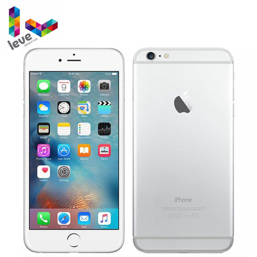 Apple iPhone 6 Plus 5.5 4G LTE Dual Core 16G/64G/128G ROM Fingerprint Recognition 8MP IOS Unlocked Original Mobile Phone image