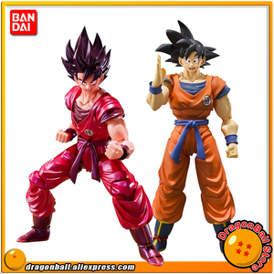 """Image 1 - """"Dragon Ball Z"""" 100% Original BANDAI Tamashii Nations S.H. Figuarts / SHF Action Figure   Son Gokou Kaio ken"""