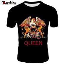 2019 New QUEEN T Shirt Men Short Fashion Printing T