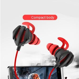 Image 4 - Kulaklık kask CS oyunları için oyun kulak kulaklık 7.1 Mic ses kontrolü ile PC oyun kulaklık