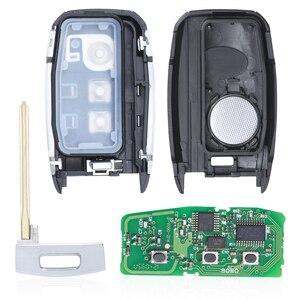 Image 4 - KEYECU חכם מרחוק מפתח Fob 3 כפתור 433MHz ID46 שבב לקאיה K5 Sportsge 2013 2014 2015 2016 FCCID: 95440 3W600