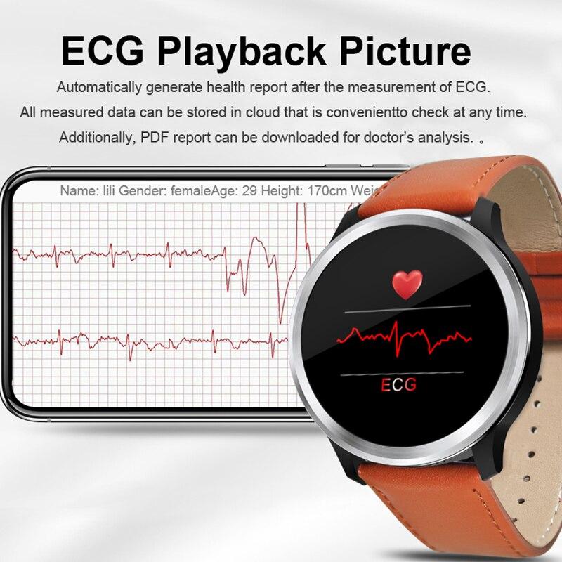 ECG montre bracelet intelligent bracelet moniteur d'oxygène sanguin bracelet intelligent hommes sport sommeil ip68 étanche smartwatch hommes pk n58 n88 mx9 Bracelet intelligent exceptionnel femmes montre intelligente f