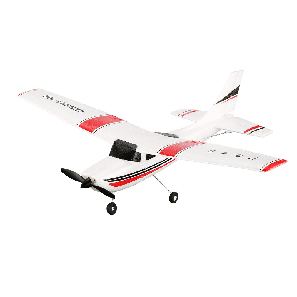 WLtoys F949 3 Channel 2.4GHz <font><b>RC</b></font> Airplane Toy Fixed Wing RTF <font><b>CESSNA</b></font>-<font><b>182</b></font> Radio Control <font><b>Plane</b></font> Outdoor Drone Toy for Kids Adult Gift image