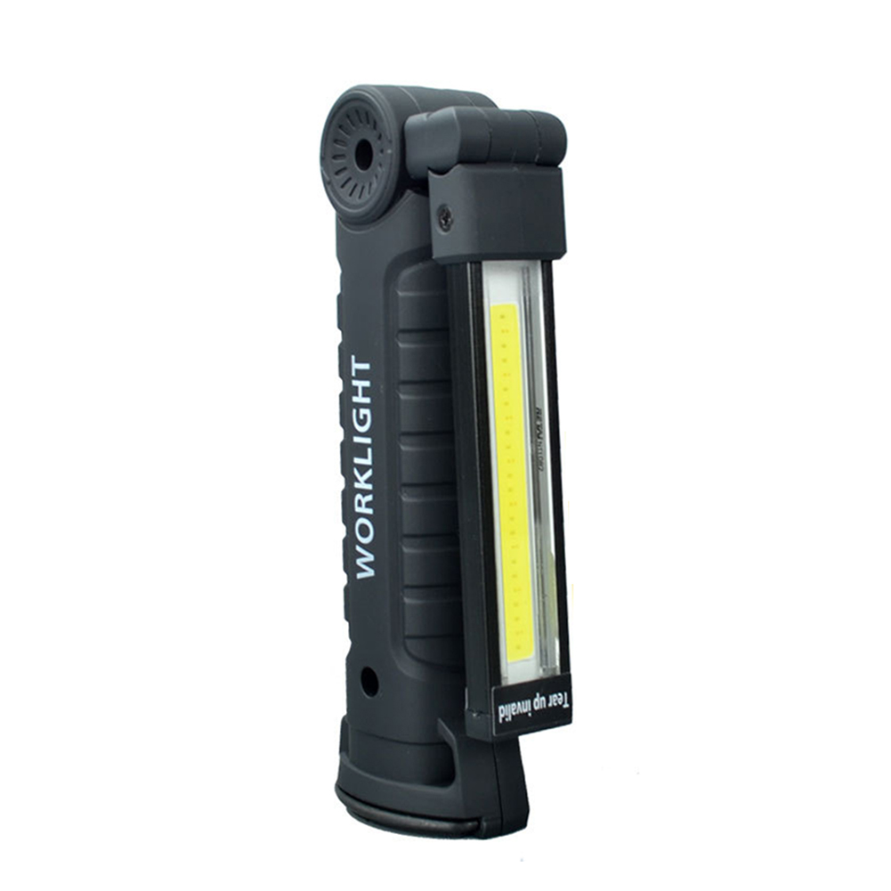 Recharge Camping Flashlight With Hook Multifunctional Outdoor Portable Lighting Magnet Bright UV