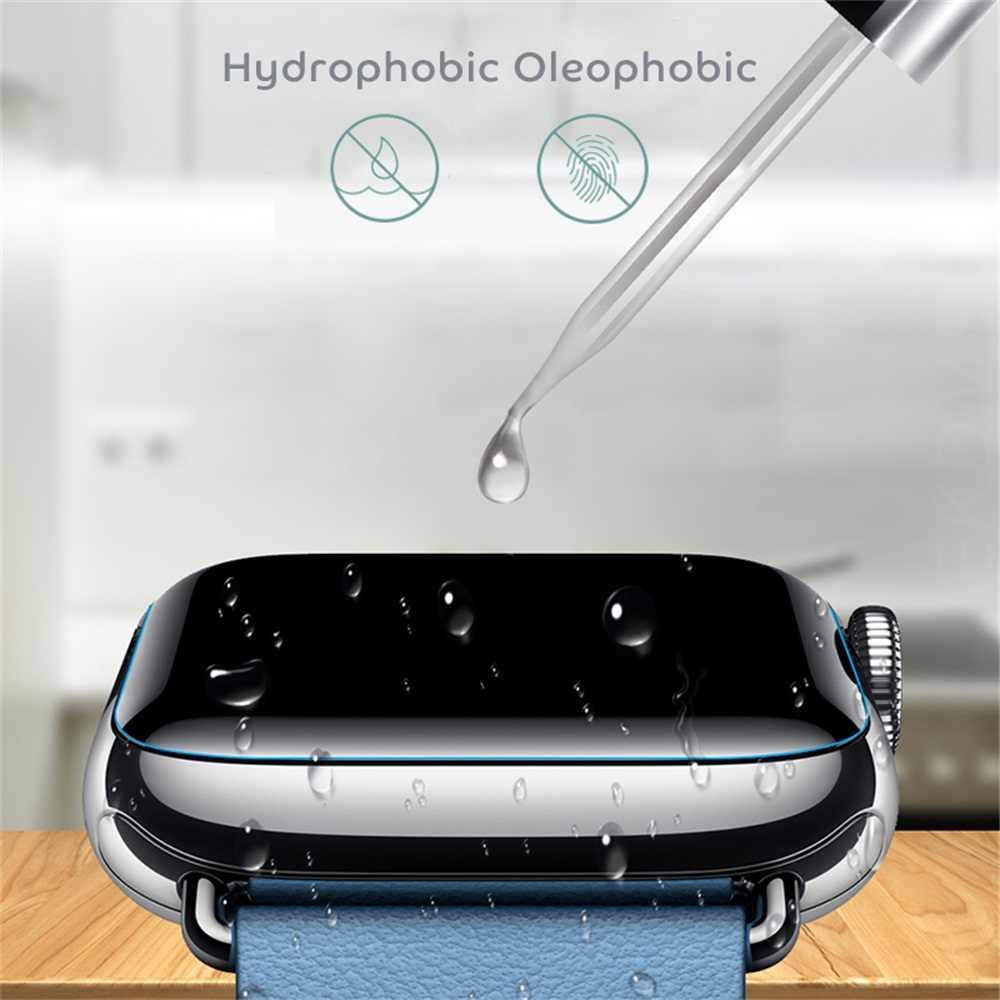 חדש מגיע 3D TPU הידרוג 'ל מגן סרט מלא כיסוי מסך מגיני אני-שעון אפל שעון סדרת 4 3 2 1 רך עמיד