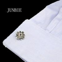 JUNBIE Luxury vintage Sparta style shirt cufflink for mens designer Cuff link Button male High Quality Wedding Free Shipping
