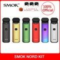 Оригинальный набор SMOK Nord со встроенным аккумулятором + катушки + Pod 3 мл для электронной сигареты smok nord pod vape Kit vs smok novo vape kit