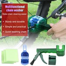 Bicycle Chain Washer Toothbrush Sickle Brush Cleaning and Maintenance Tool Bike Chain Cleaner bicycle large brush chain cleaning brush tooth plate chain cleaning equipment three sides large brush