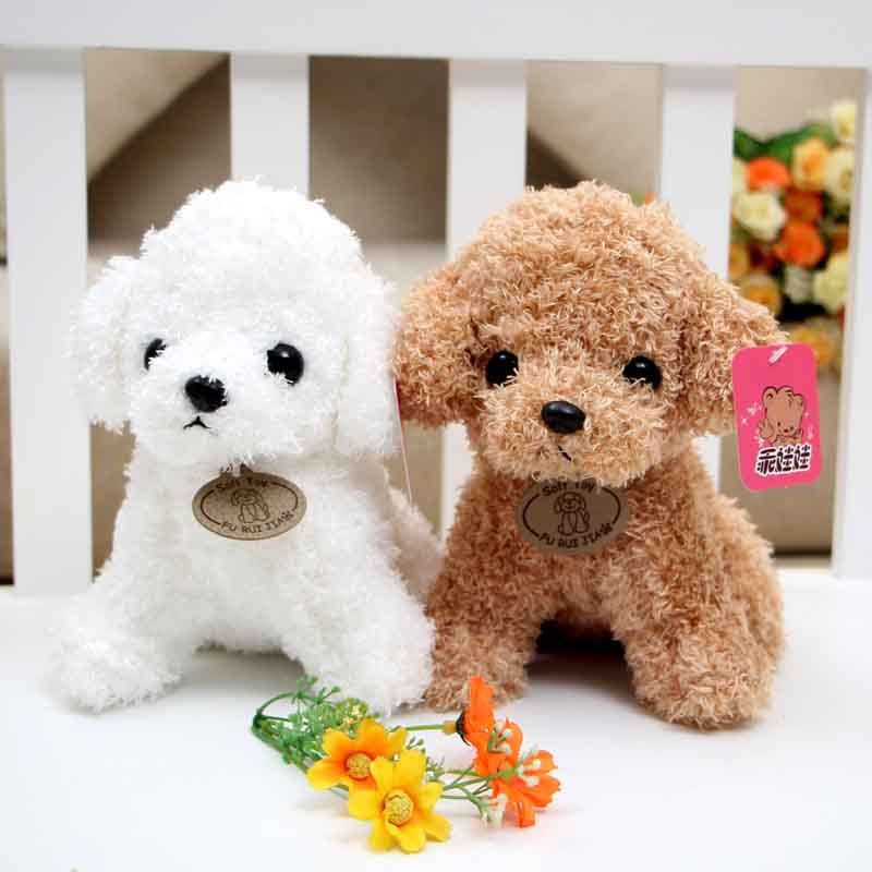 Model Poodle Year of the Dog Mascot Plush Toys Crane Machines Doll Small Doll Puppy Mascot Doll