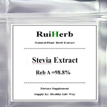 100gram (3.52oz), Stevia Powder (Stevioside) Extract 100% Stevia  Reb A Purity =98.8% free shipping стоимость