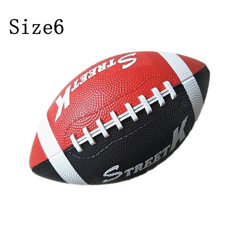 New Rugby Children's Rubber Non-Slip Wear-Resistant Training Schoolchildren American Football Professional Training Ball