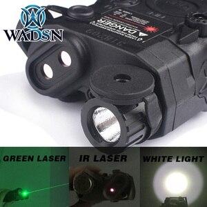 Image 2 - WADSN Airsoft Chiến Thuật Đèn Pin PEQ15 LA5 UHP Xuất Hiện Xanh/Hồng Ngoại Laser Có Đèn LED LA 5C Softair Chiến Thuật Peq LA5C WEX419