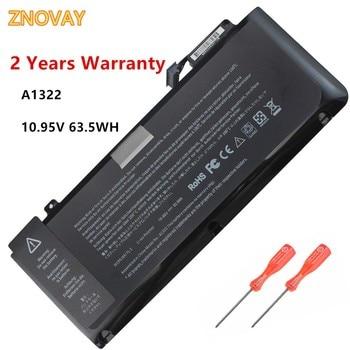 A1322 A1278 Laptop Battery for Apple 2009 2010 2011 2012 MacBook Pro 13 inch fits MB990LL/A MB991ll/A MC374ll/A 10.95V 63.5WH 63 5wh 10 95v a1322 a1278 battery for apple a1322 apple macbook pro 13 2009 2010 2011 mb991ll a mb990ll a mb990j a mc700 mc724