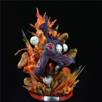 Naruto Akatsuki Organization Uchiha Obito Tobi 1/6 GK Resin Statue Action Figure Collection Model Toy X4171