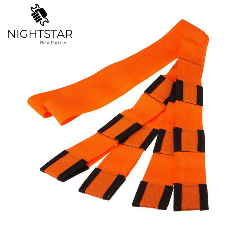 Orange Moving Rope Straps Forearm Forklift Lifting And Moving Furniture 9ft New Webbing Sling